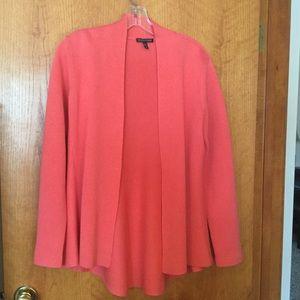 Eileen Fisher silk/cotton cardigan